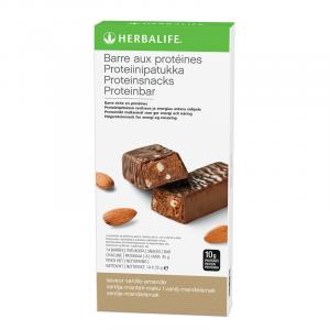 Barres aux Protéines Vanille Amandes 14 barres de 35 g