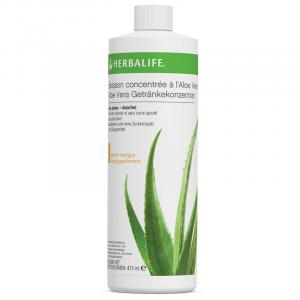 Boisson Concentrée à l'Aloe Vera Mangue 473 ml