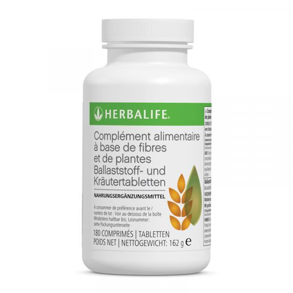 Complément alimentaire à base de fibres et de plantes 180 tablettes - 162 g Disponible en France