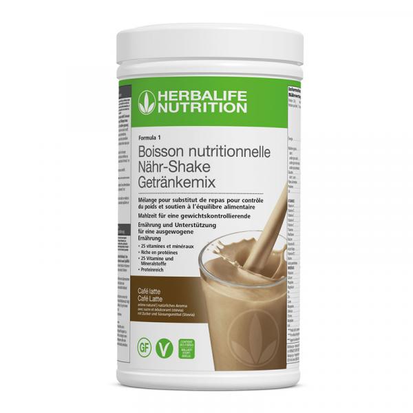 Formula 1 Nouvelle génération - Boisson Nutritionnelle Café Latte 550 g