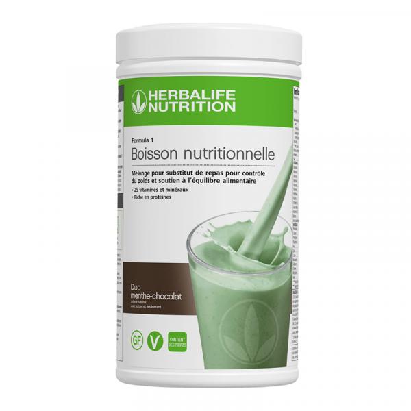 Formula 1 Nouvelle génération - Boisson Nutritionnelle Duo menthe-chocolat 550 g
