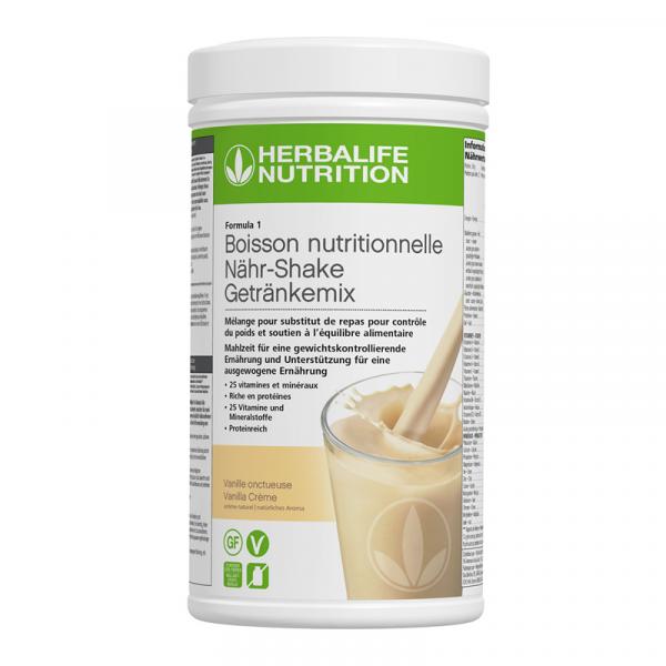 Formula 1 Nouvelle génération - Boisson Nutritionnelle Vanille Onctueuse 550 g