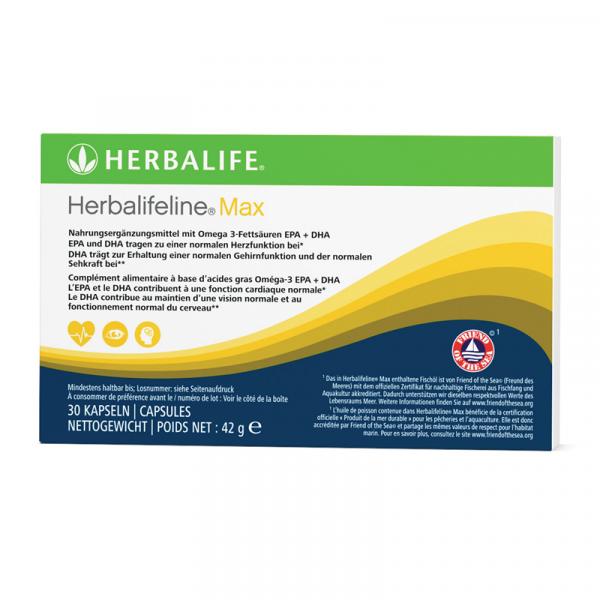 Herbalifeline® Max 30 capsules - 42 g Disponible en France