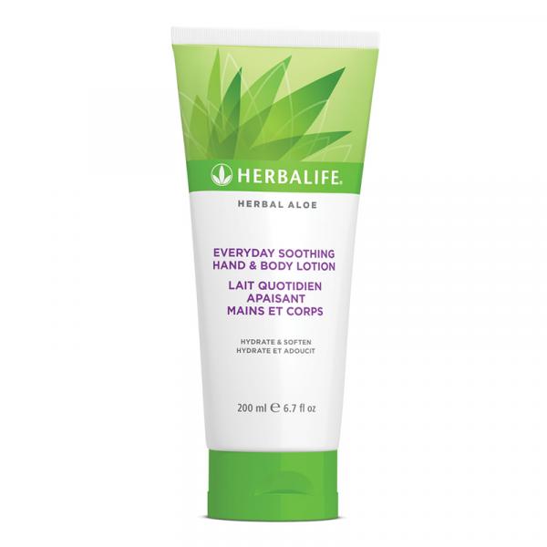 Lait Quotidien Apaisant Mains et Corps Herbal Aloe 200 ml Disponible en France