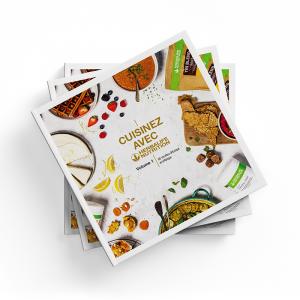 Livre de recettes Herbalife Nutrition Volume 1 L'unité en français Disponible en France