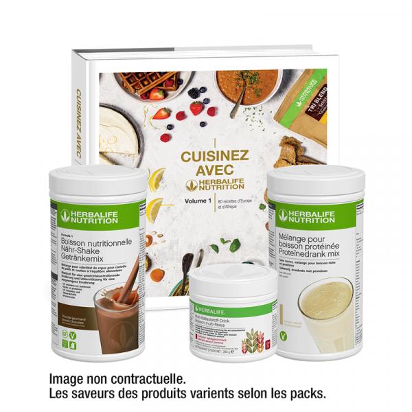 Pack Cooking Douceurs Chocolat Herbalife Disponible en France