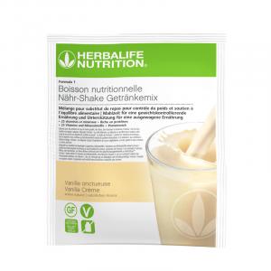 Sachets de Formula 1 nouvelle génération - Boisson Nutritionnelle Vanille Onctueuse lot de 7 sachets de 26 g