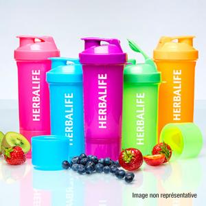 Shaker Fluo 500 ml Herbalife Nutrition Disponible en France